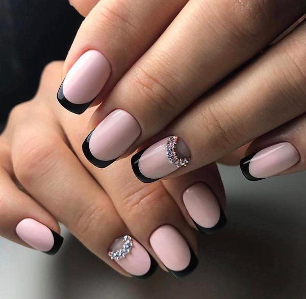 French Manicure Doesnt Always Need To Be A Combination Of Light Pink And White