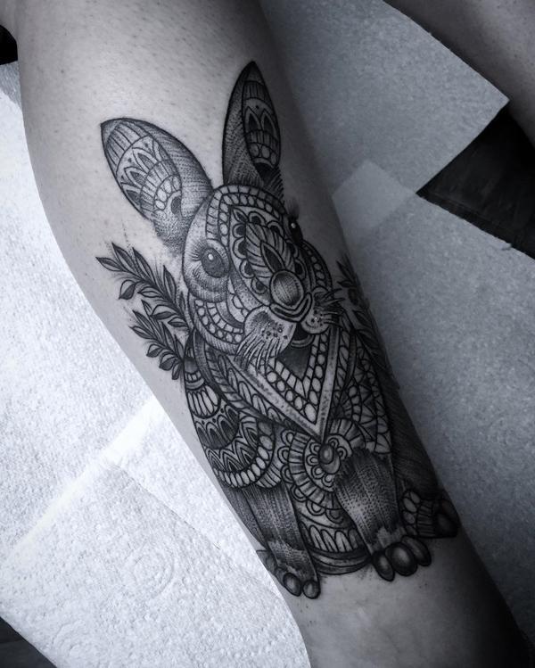 60rabbit Tattoo Ideas Art And Design