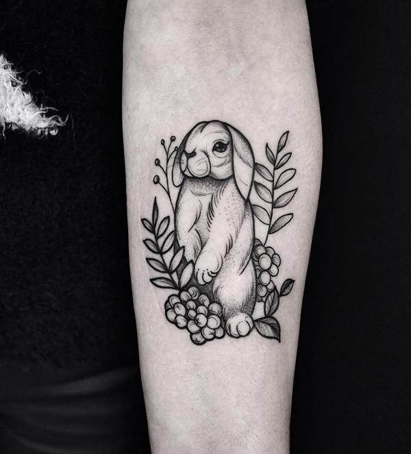 60rabbit Tattoo Ideas For Your Inspiration Art And Design