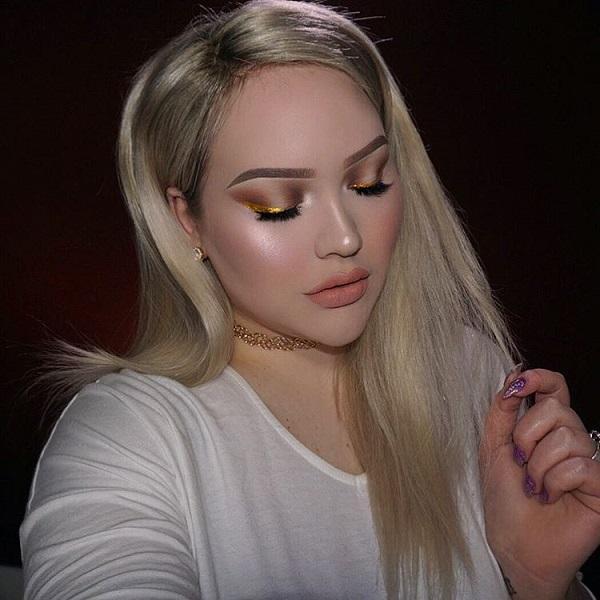Если тон кожи и глаза темнее, то должен быть более темный оттенок золотого цвета. Много различных оттенков этих цветов существуют, так что вы, безусловно, легко найти идеальный для вас.