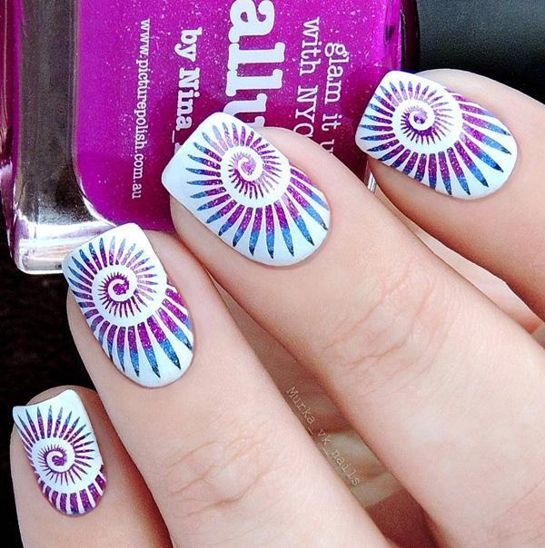 45 multicolored nail art ideas art and design 45 multicolored nail art ideas 3 prinsesfo Choice Image