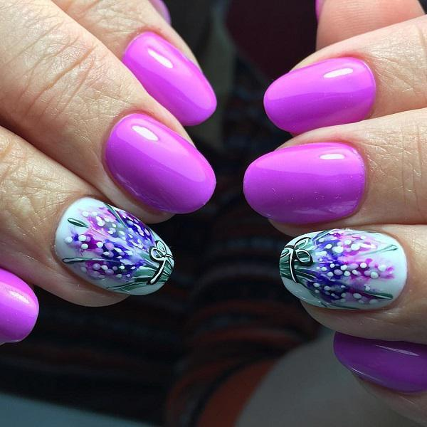 45 Purple Nail Art Designs Art And Design