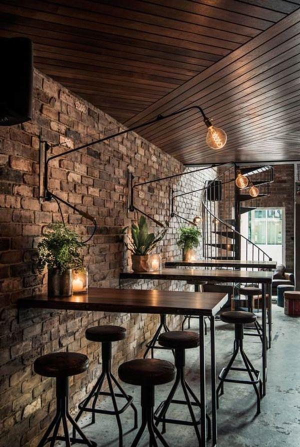 Nice, A Bit Rustic But In Its Own Way A Modern Cafe, ...