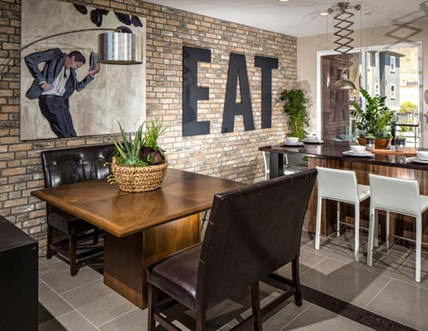 In this environment of a restaurant you will surely enjoy every bite. & 55 Brick Wall Interior Design Ideas | Art and Design