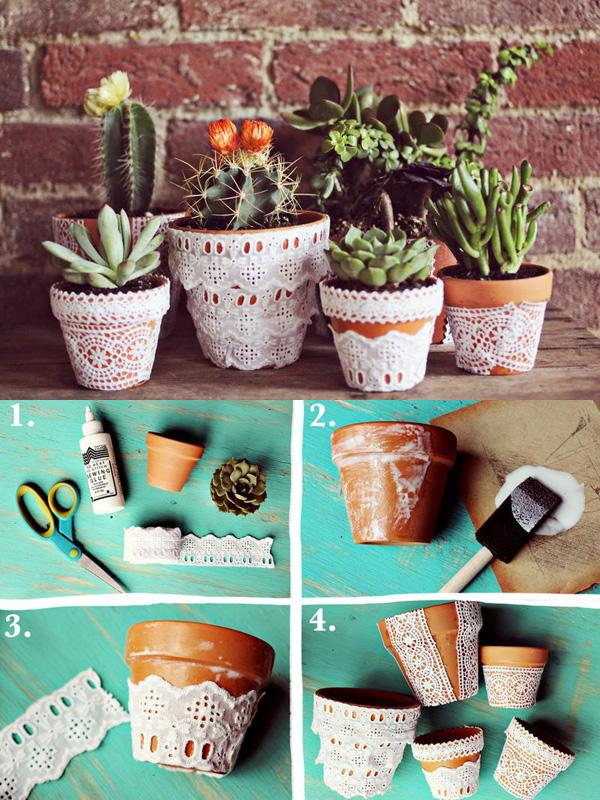 40+ DIY Flower Pot Ideas U003c3 ...