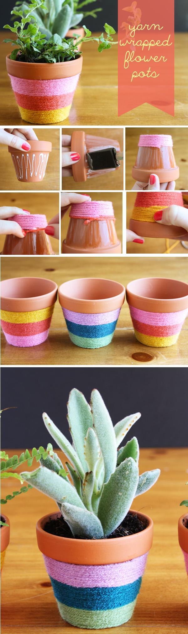 40 Diy Flower Pot Ideas Obsigen