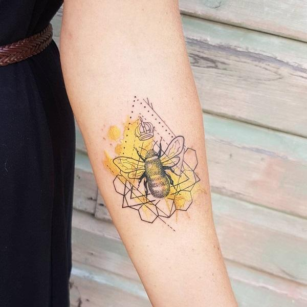 Cute Honey Bee Tattoos Kidscarestore