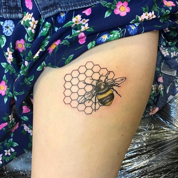 pretty girl tattoo