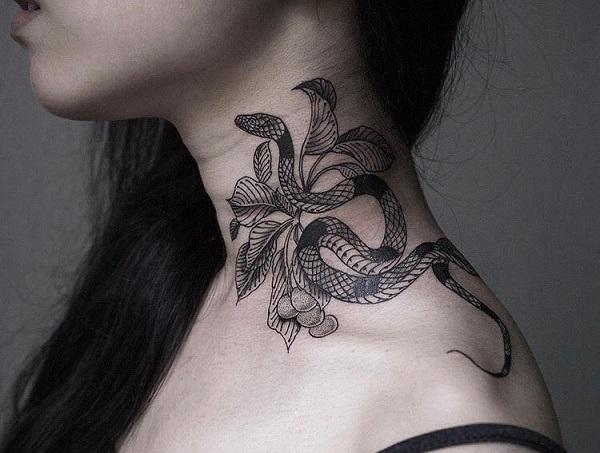 7fe7fe7a9c259 60 SNAKE TATTOO IDEAS | Art and Design