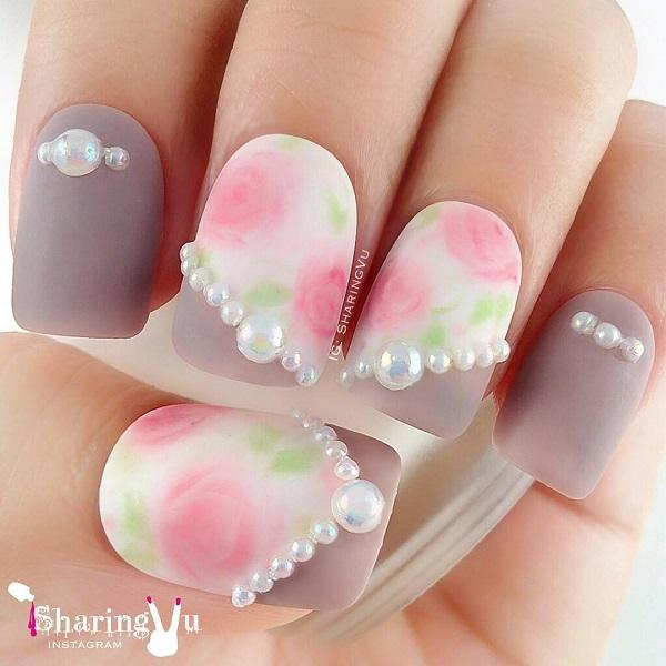 70 Square Nail Art Ideas Art And Design