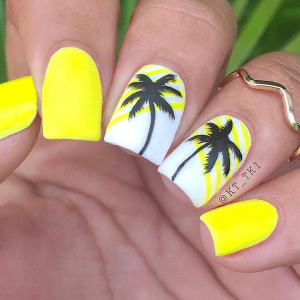 Лето, солнце светит, жара везде ... это не было бы полное лето без желтого цвета, что вы можете объединить в широкий спектр способов.