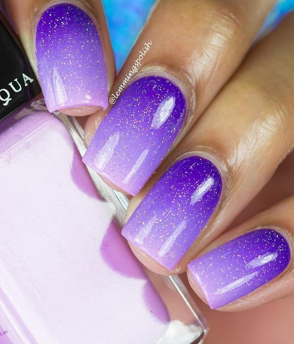 Мистический фиолетовый никогда не выходил из моды.