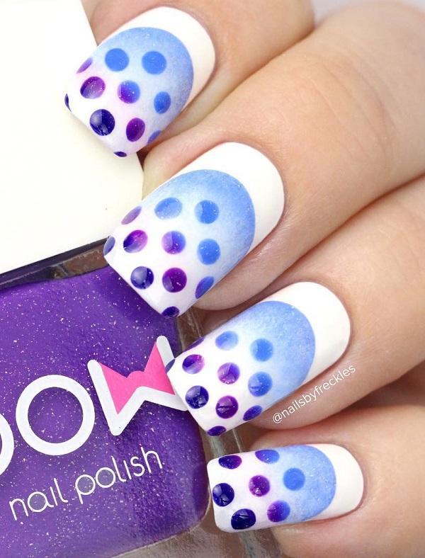 Многие дамы любят носить пучки как на одежде, так и на ногтях. Если вы один из них, я уверен, что вам понравятся эти ногти.