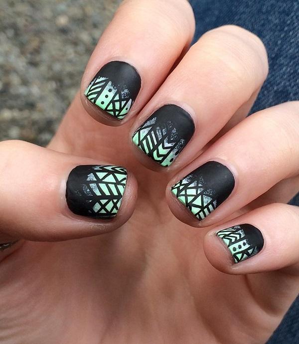 70 Square Nail Art Ideas | Art and Design