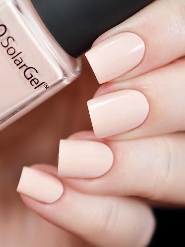 Manicure That Is Excellent For A Serious Business Woman Who Loves Discrete Make Up
