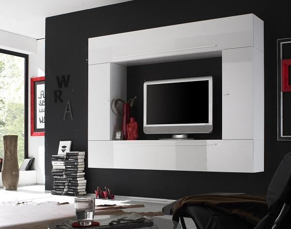 New When you choose colors for your space black or darker gray in bination with white