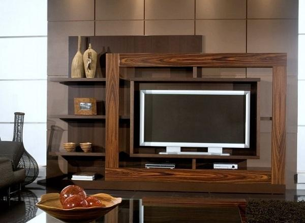 Lcd Units Wall Design Living Room Easy Living Room Lcd Tv Wall Unit Design  Ideas | Home Designs U2013 HOUSE DESIGN AND PLANS