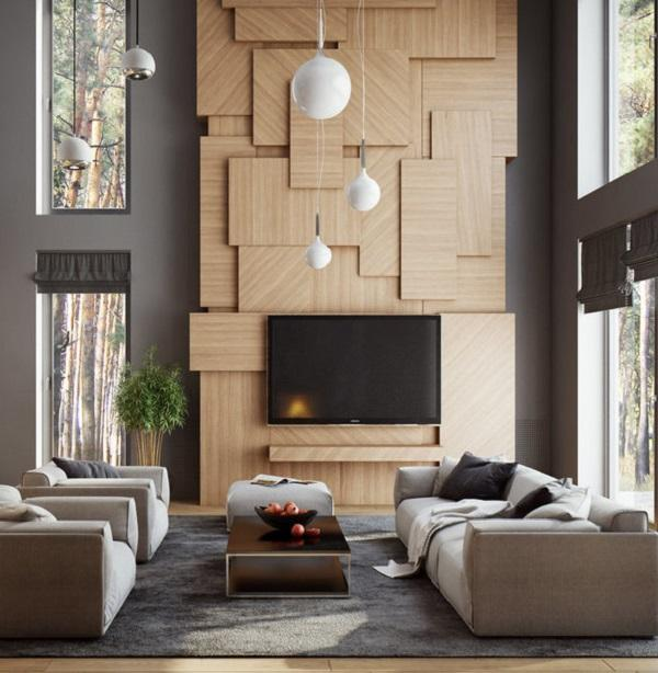 50 Inspirational TV Wall Ideas | Art and Design