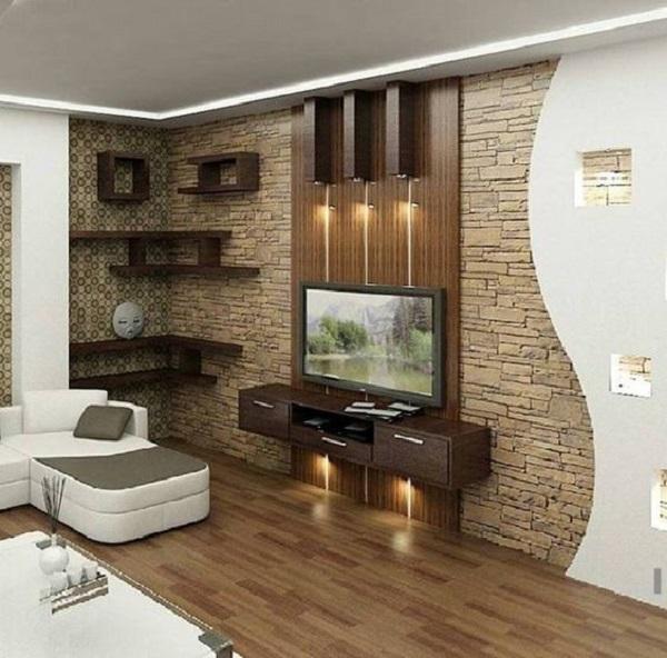 50 Inspirational TV Wall Ideas | Art and Design