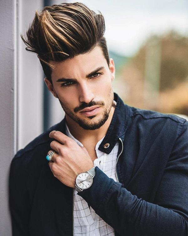 Hair Styles For Men Art And Design - Hair style change photo effect
