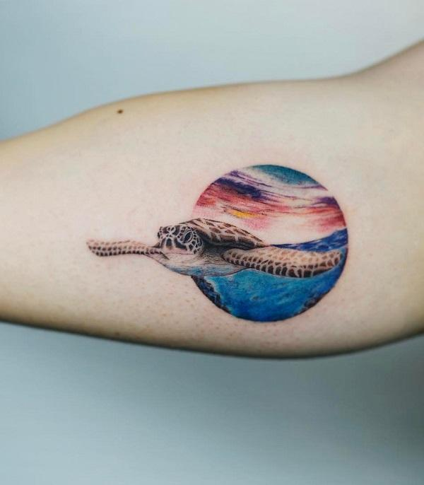 45+ Turtle Tattoo Design Ideas | Art and Design