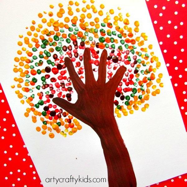 25+ Easy Fall Crafts for Kids | Art and Design