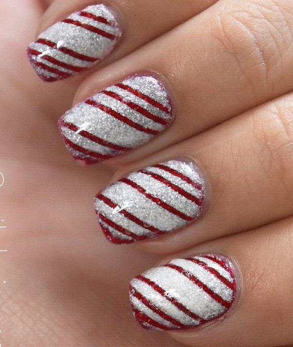 55 Stripes Nail Art Ideas | Art and Design