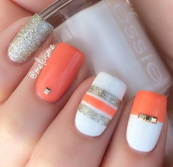55 stripes nail art ideas art and design 55 stripes nail art ideas 3 prinsesfo Image collections