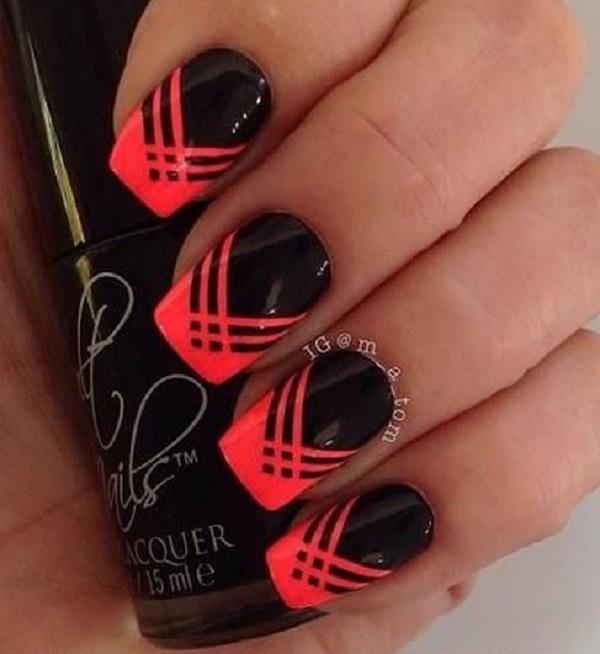 55 Stripes Nail Art Ideas Art And Design