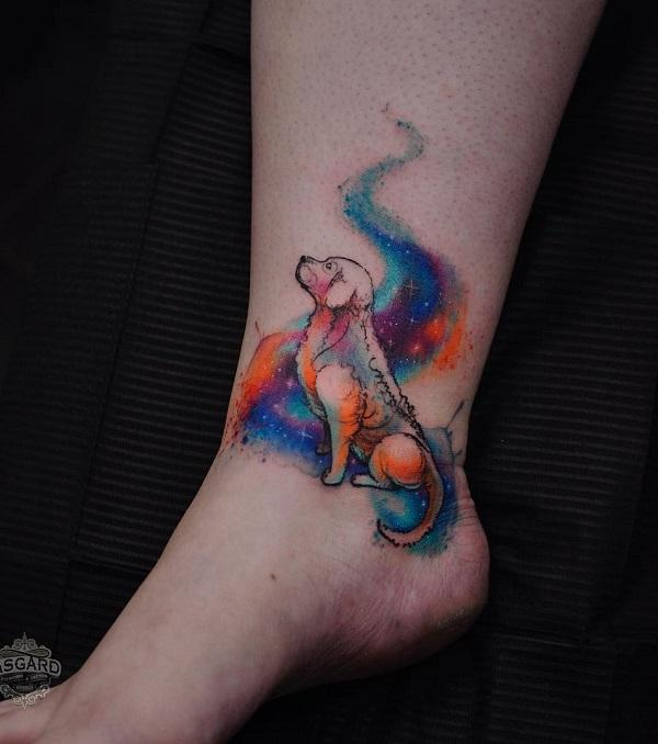 40 Cute Dog Tattoo Ideas Art And Design