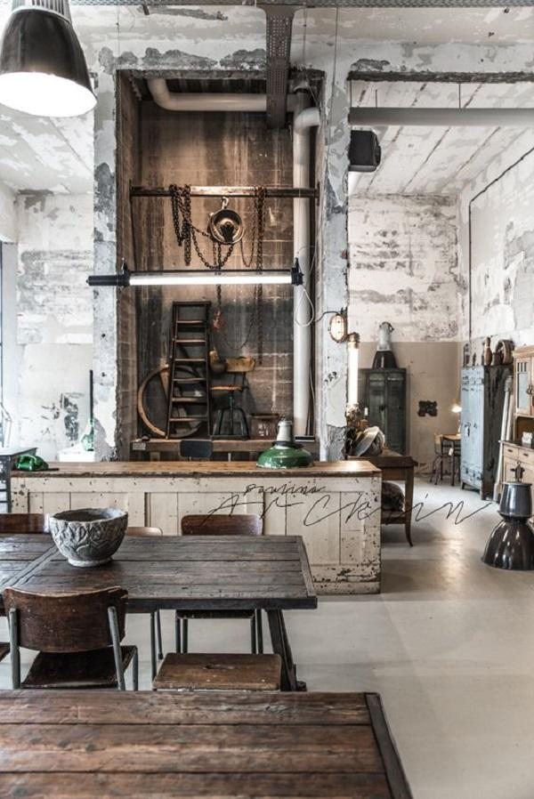 Bald Installations, Bare Walls And Untreated Wood That Look Very Useful And  Old Are Essential ...