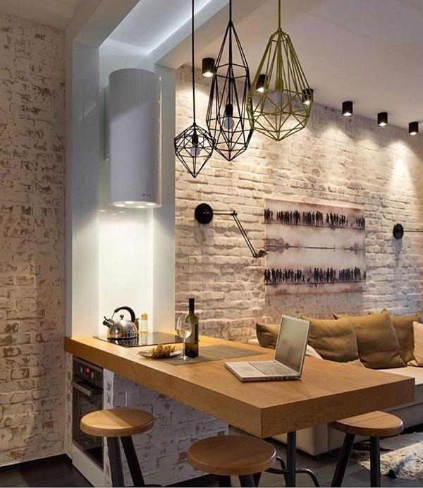 Because of brick iron and a lot of light in the room ... & 30 Industrial Style Interior Designs | Art and Design