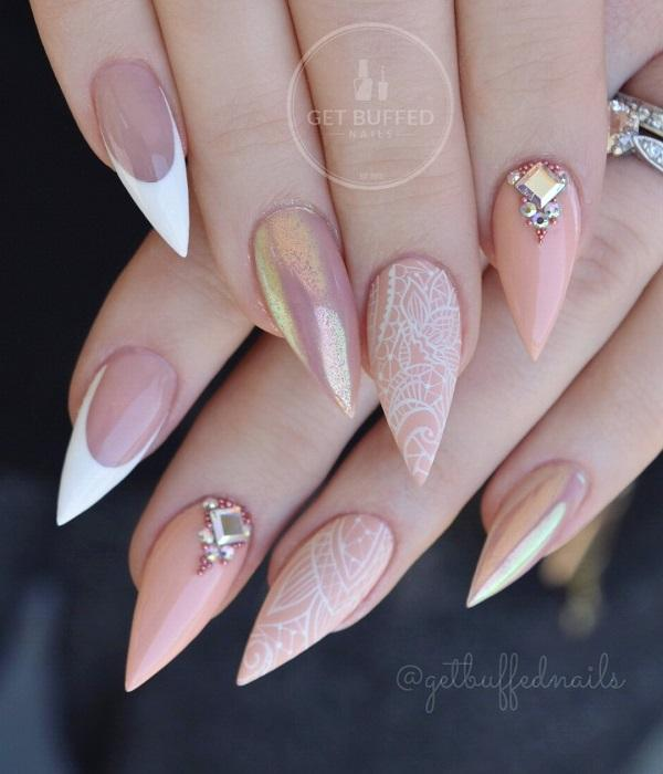 45 Classy Nail Art Ideas | Art and Design