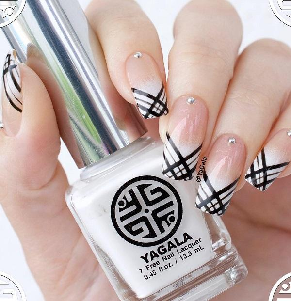 40 Geometric Nail Art Ideas <3 ... - 40 Geometric Nail Art Ideas Art And Design