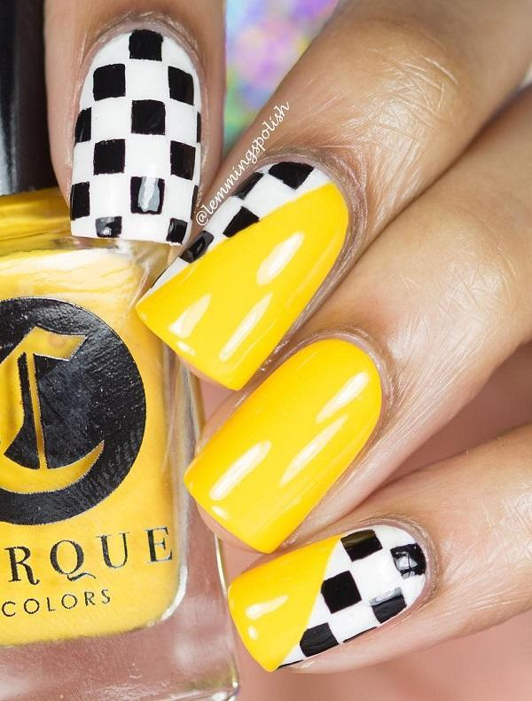 The Yellow Color Of Nail Polish Will Never Go Unnoticed
