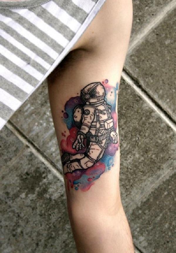 30+ Astronaut Tattoo ideas | Art and Design