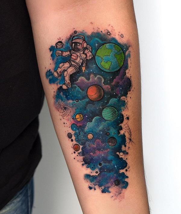 30+ Astronaut Tattoo ideas