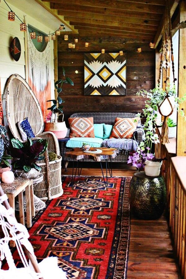 40 Bohemian Interior Design Ideas