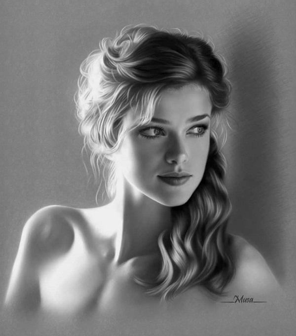 Portrait Artworks by Musa Çelik