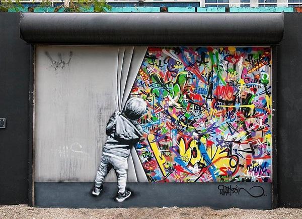 Street art by Martin Whatson