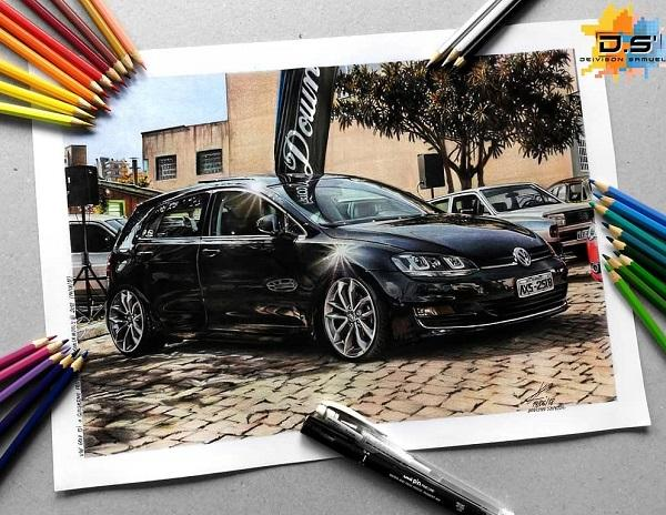 Realistic pencil drawings by Deivison Samuel