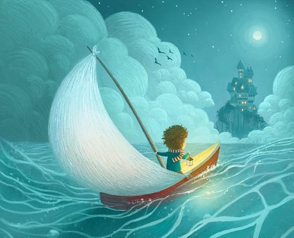 Cute Children's Illustrations by Ramona Kaulitzki