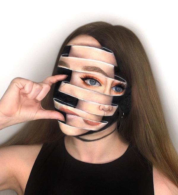 Skin Clock Halloween makeup
