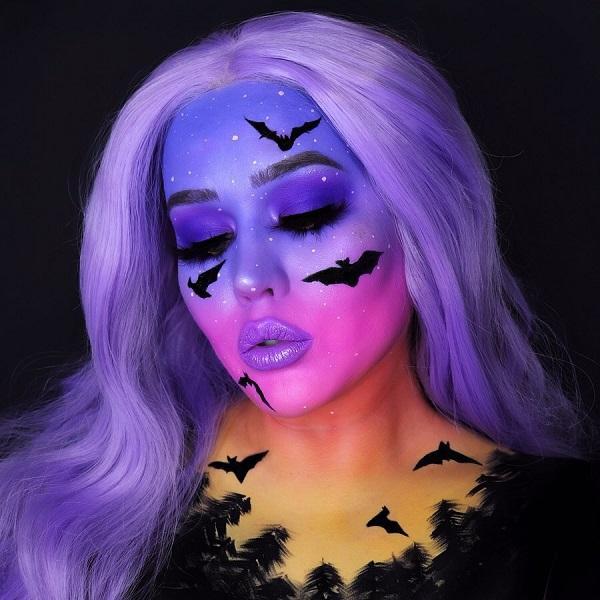 Fantasy World  Halloween makeup