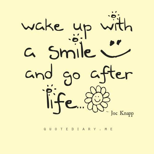 inspirational smile quotes art and design