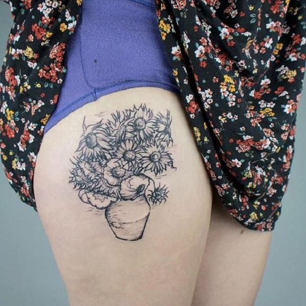 vincent van gogh tattoos Sunflowers